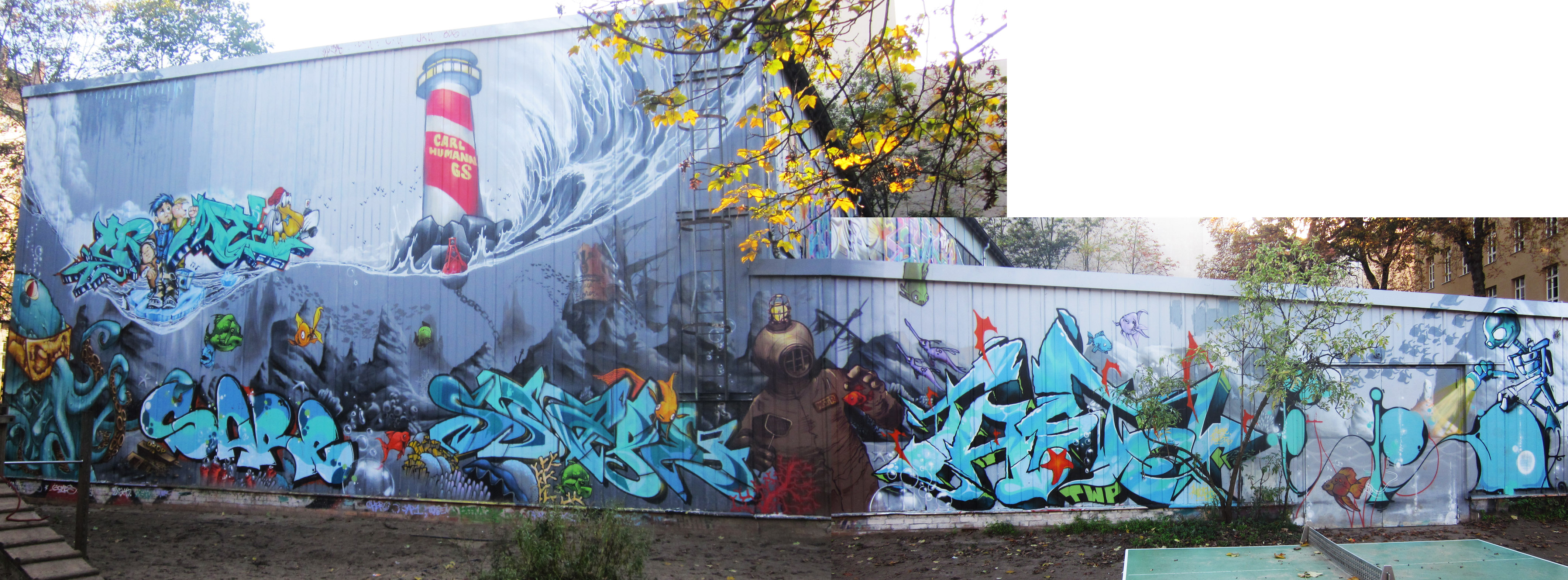 graffiti lobby berlin carl humann grundschule. Black Bedroom Furniture Sets. Home Design Ideas